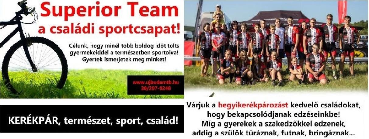 MTB verseny csapat